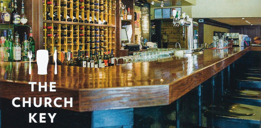 Welcome To The Church Key Bistro-Pub